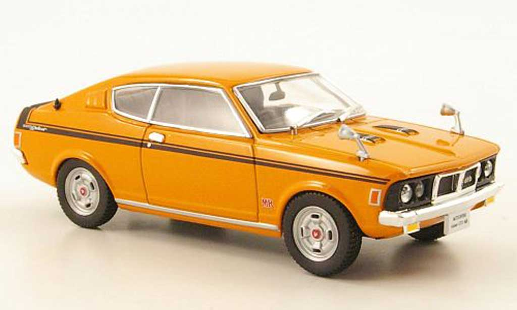 Mitsubishi Colt GTO 1/43 Norev GTO MR galant orange 1970 miniature