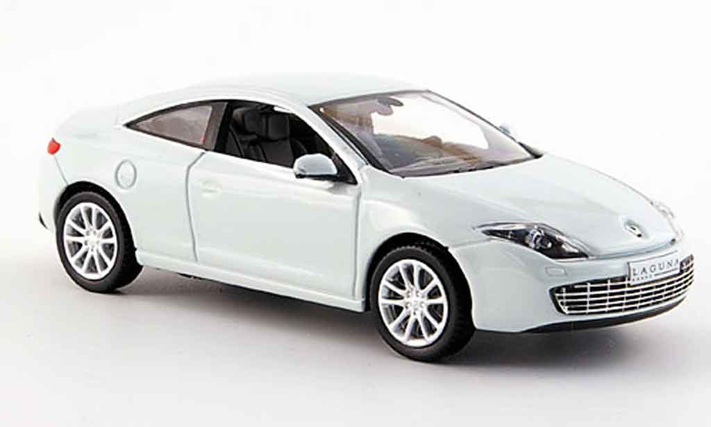 Renault Laguna 1/43 Norev coupe blanche 2008 miniature