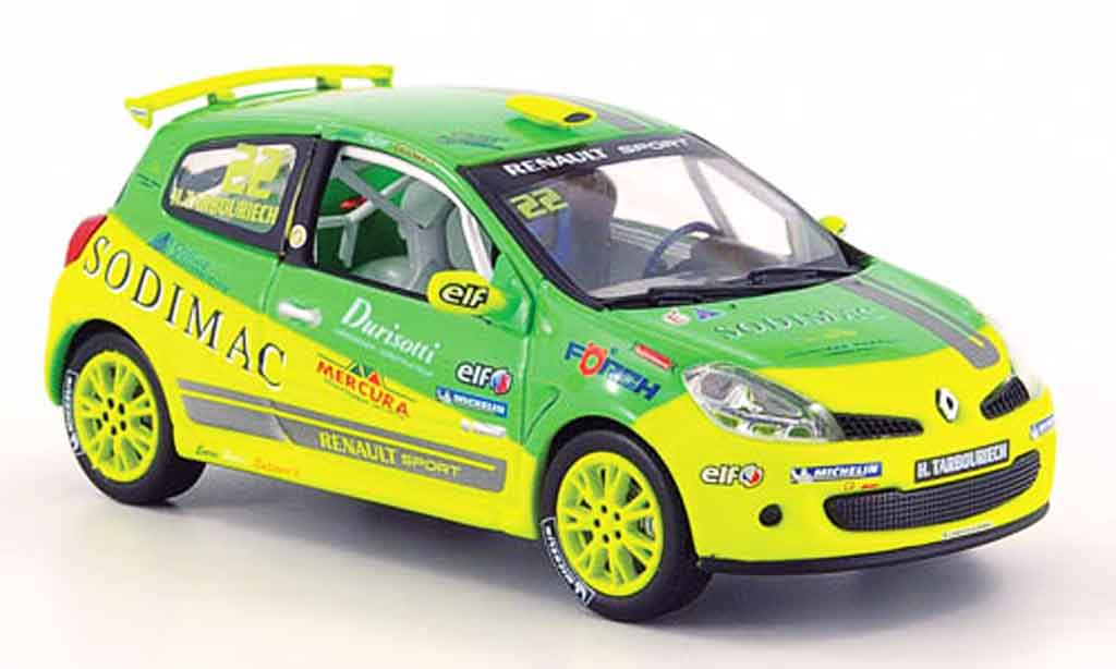 Renault Clio Cup 1/43 Norev no. 22 h.tarbouriech 2007 miniature