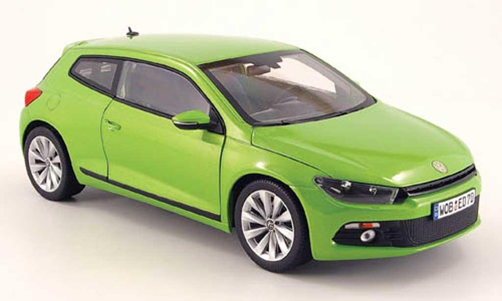 Volkswagen Scirocco 1/18 Norev iii 2.0 tsi green 2008 diecast