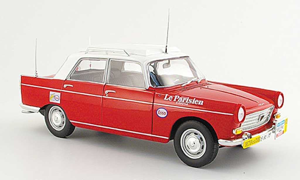Peugeot 404 Berline 1/18 Norev directeur de course tour de france 1968 miniature