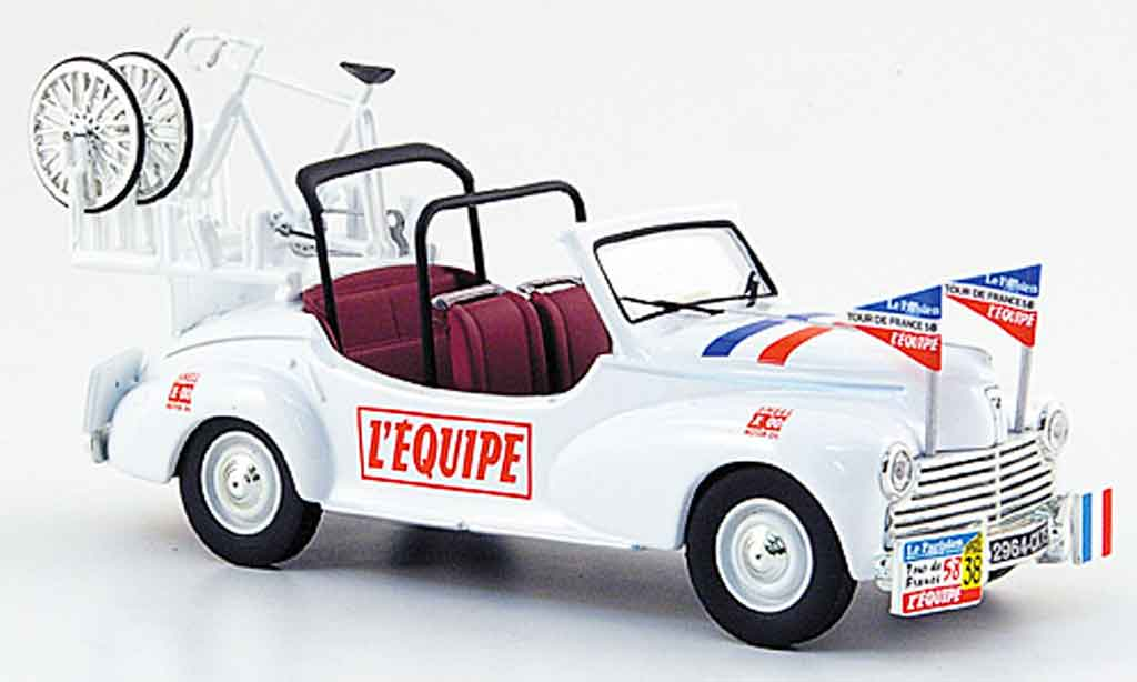 Peugeot 203 1/43 Norev assistance tour de france 1958 miniature