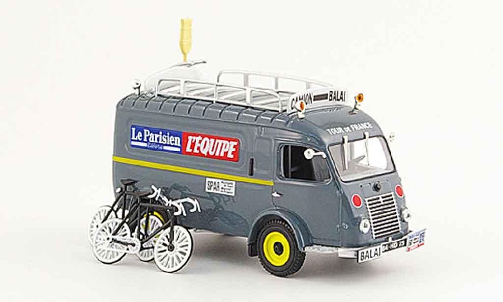 Renault 1000KG 1/43 Norev camion balai tour de france 1961 miniature