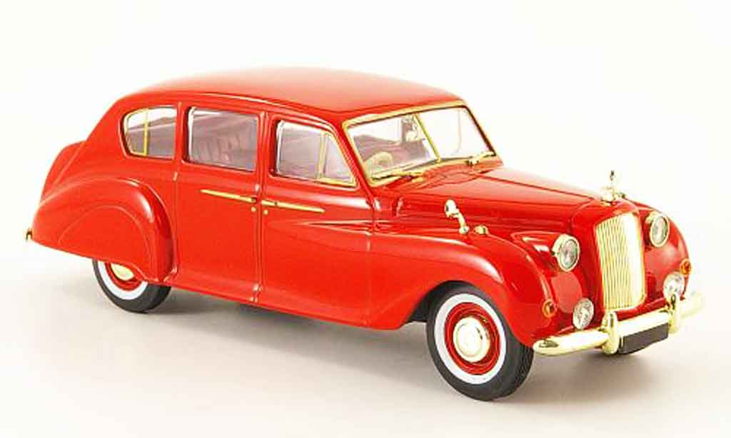 Austin Princess 1/43 Oxford rouge miniature