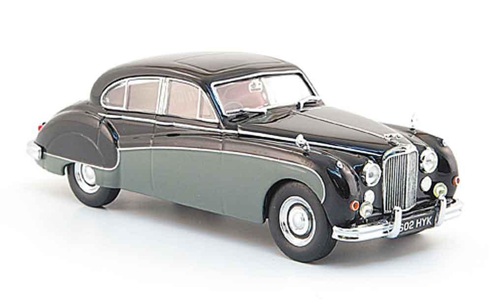 Jaguar MK 8 1/43 Oxford noire grise miniature