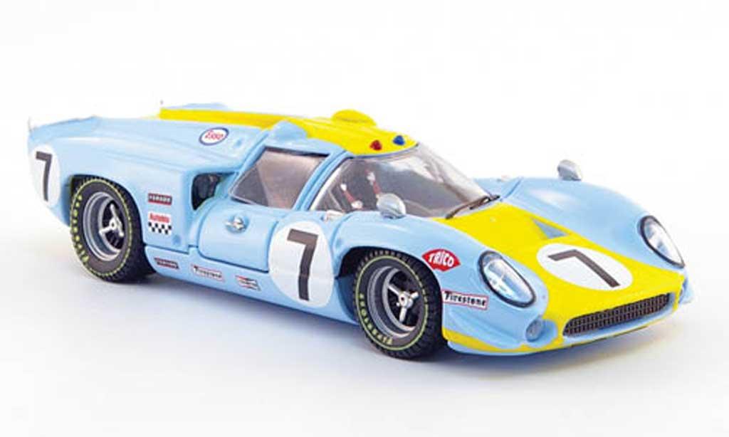 Lola T70 1968 1/43 Best Coupe No.7 Norinder/Axelsson 24h Le Mans coche miniatura