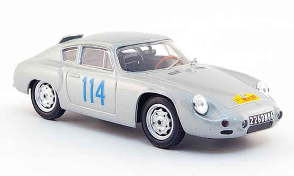 Porsche Abarth 1/43 Best No.114 Burchet Mairesse Tour de Corse 1960 modellautos
