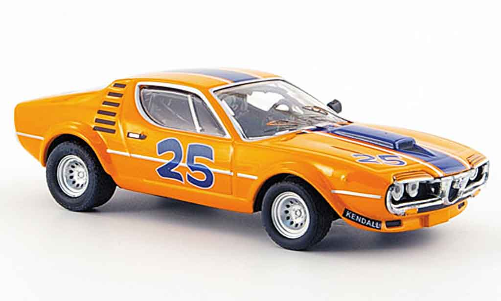 Alfa Romeo Montreal 1/43 M4 no.25 zeccoli everett 6h watkins glen 1973 miniature