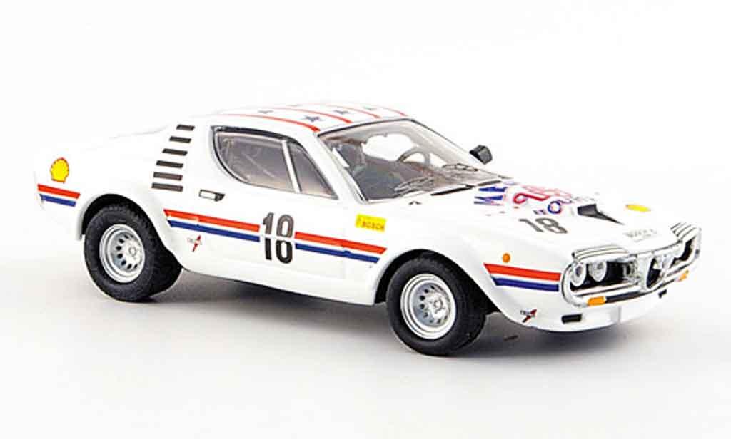 Alfa Romeo Montreal 1/43 M4 corsa no.18 medley zolder 1974 miniature