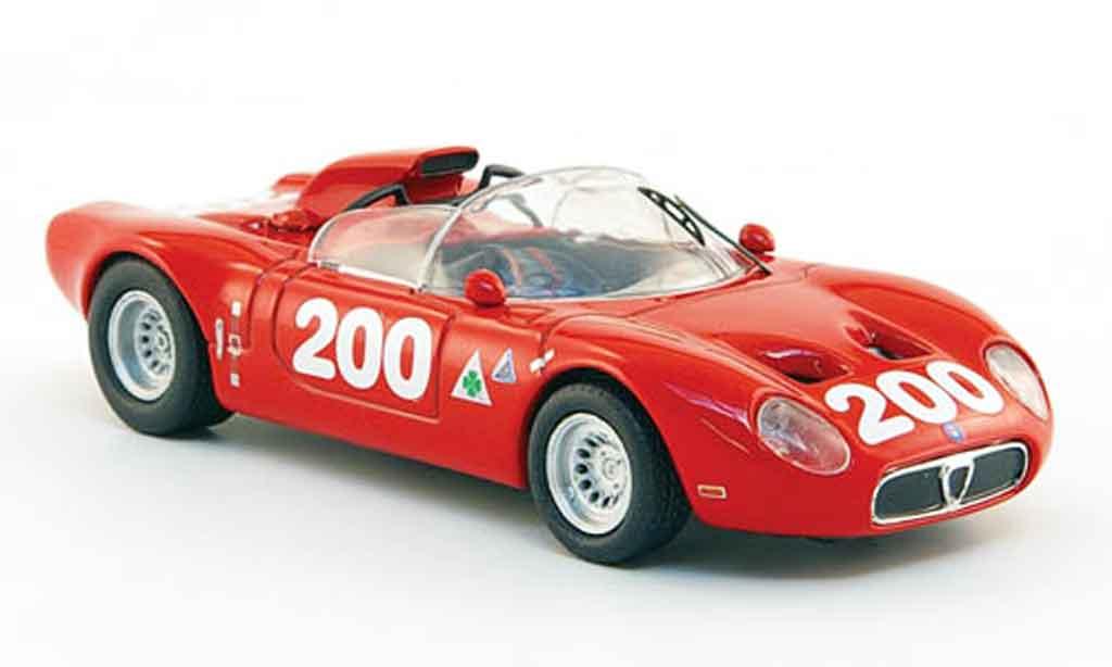 Alfa Romeo 33.2 1967 1/43 M4 fleron no. 200 russo todaro targa florio miniatura