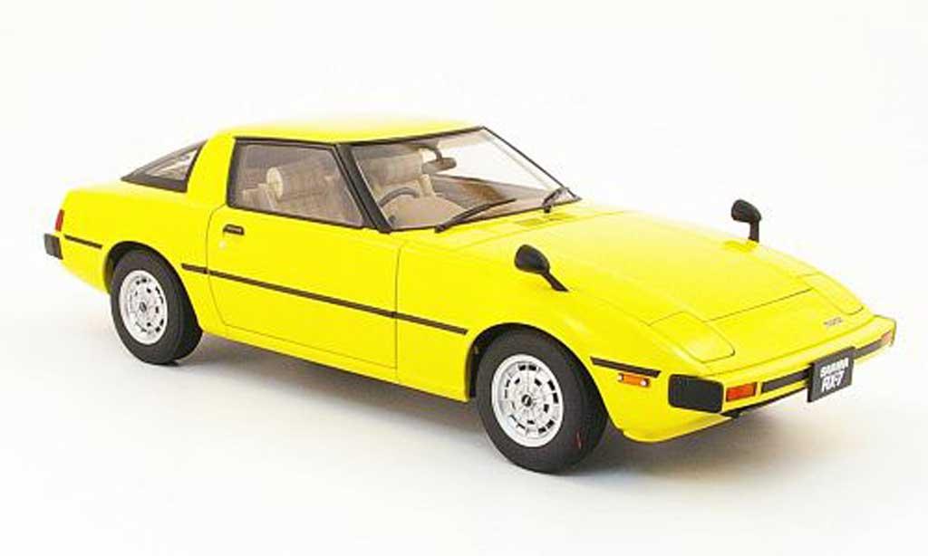 Mazda RX7 1/18 Autoart savanna (sa) yellow 1978 diecast