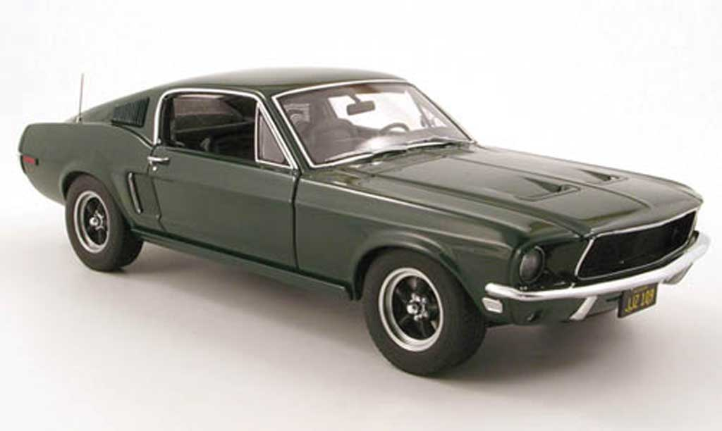 Ford Mustang Bullit Mc Queen 1/18 Autoart gt version 1968 modellautos