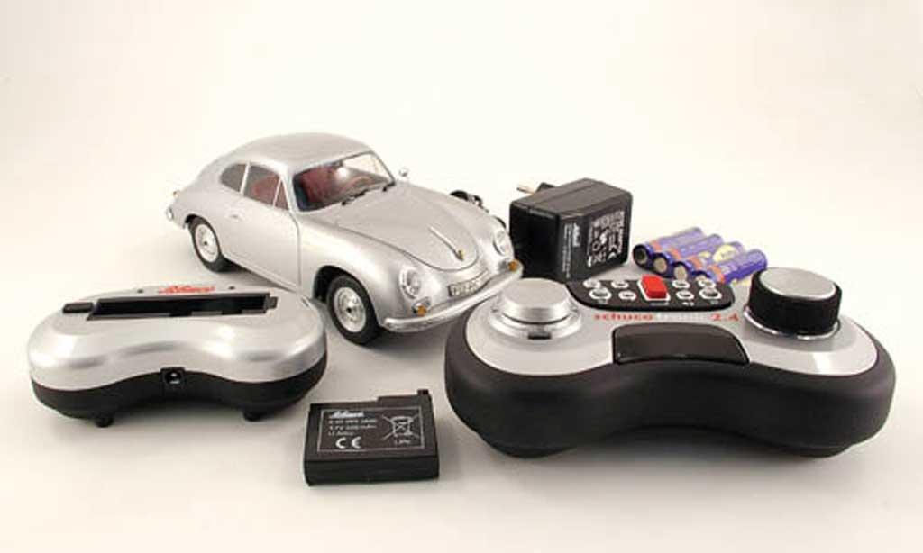 Porsche 356 1/18 Schuco A coupe grey mit funktionen diecast model cars
