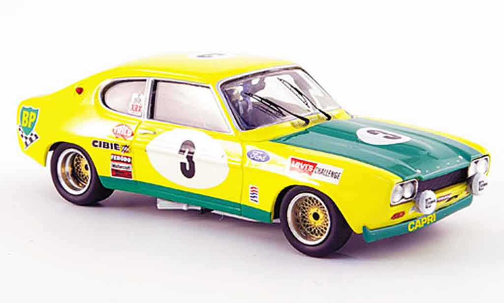 Ford Capri 2600 1/43 Trofeu  No.3 Zweiter Platz 24H Spa 1972 miniature