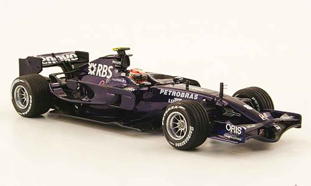 Toyota F1 1/43 Minichamps williams fw30 no.8 rbs k.nakajima 1. 3. februar 2008 miniature
