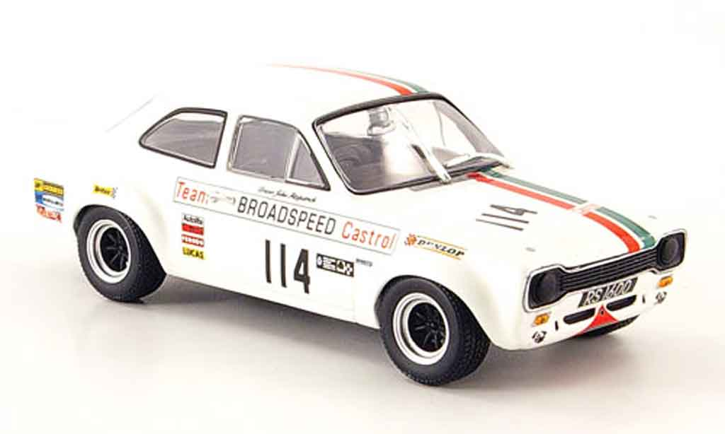 Ford Escort RS 1600 1/43 Minichamps No.114 Castrol Brands Hatch 1971 miniature