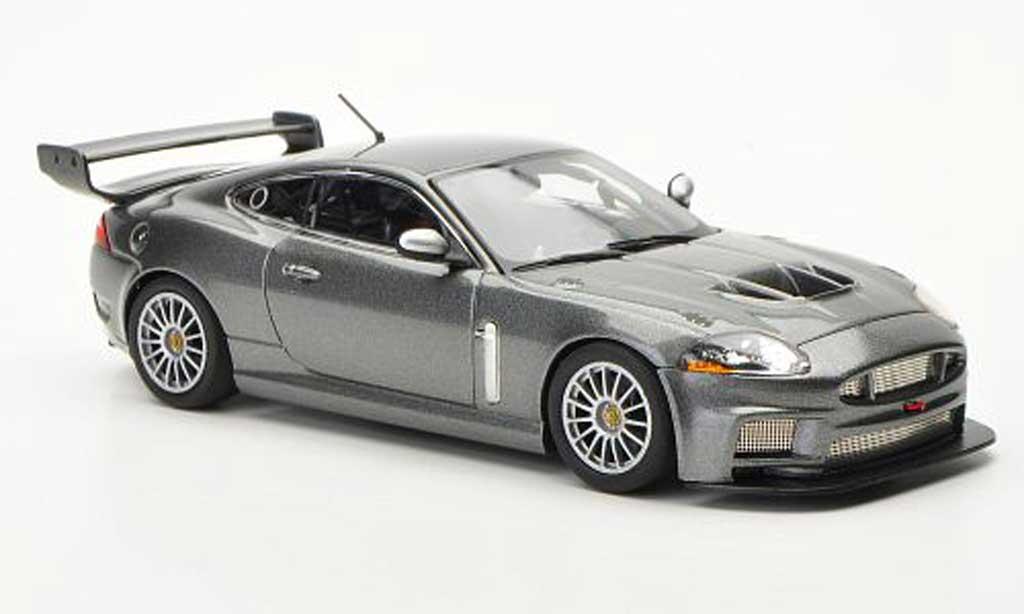 Jaguar XKR GT3 1/43 Minichamps Street gray 2008 diecast