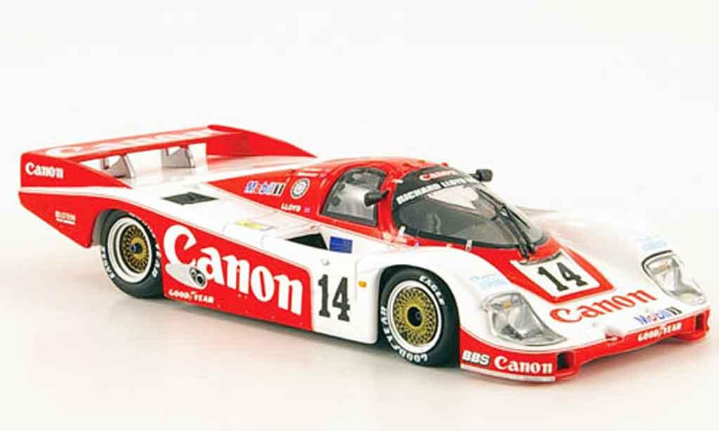 Porsche 956 1985 1/43 Minichamps L No.14 Canon 24h Le Mans miniature