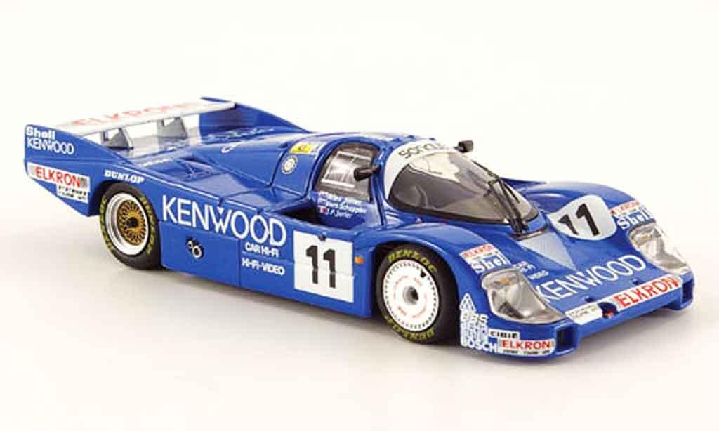 Porsche 956 1984 1/43 Minichamps L No.11 Kenwood 24h Le Mans miniature