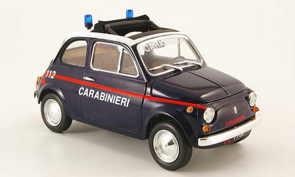 Fiat 500 L 1/18 Minichamps carabinieri polizei 1965 diecast model cars