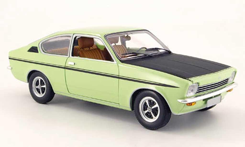 Opel Kadett coupe 1/18 Minichamps c sr verte 1976 miniature