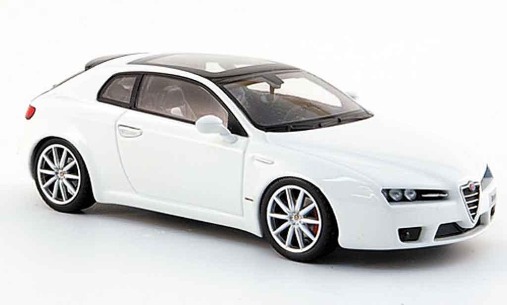 Alfa Romeo Brera 1/43 Minichamps white edizione 2008 2005 diecast