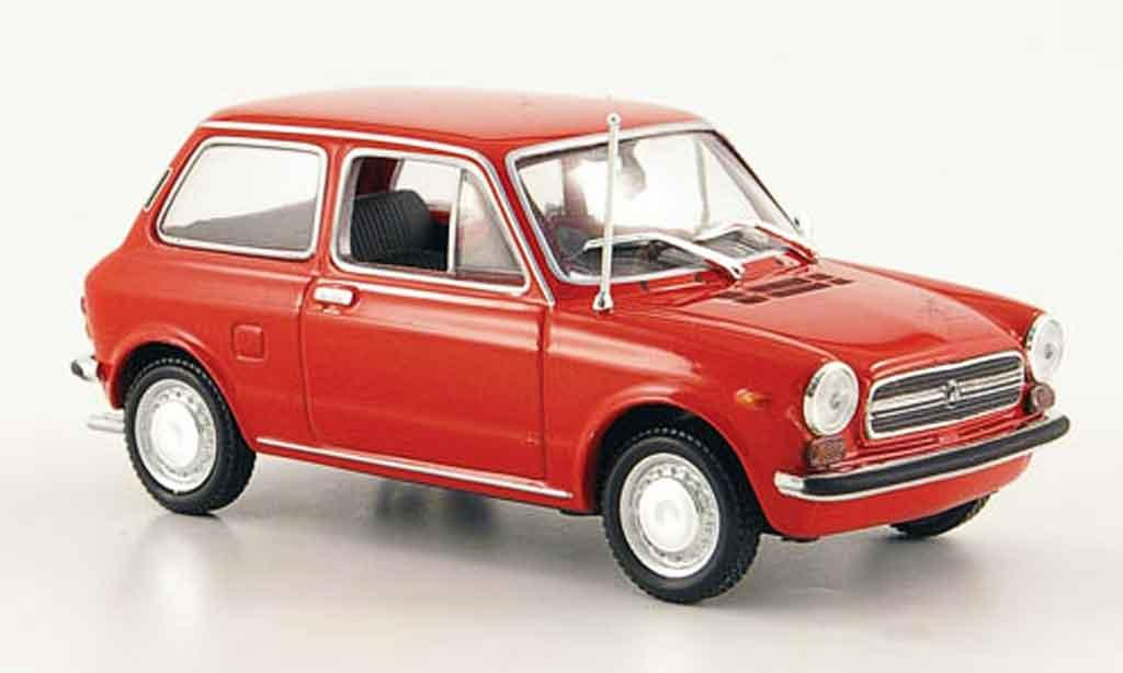 Autobianchi A112 1/43 Minichamps A 112 rouge 1974 miniature