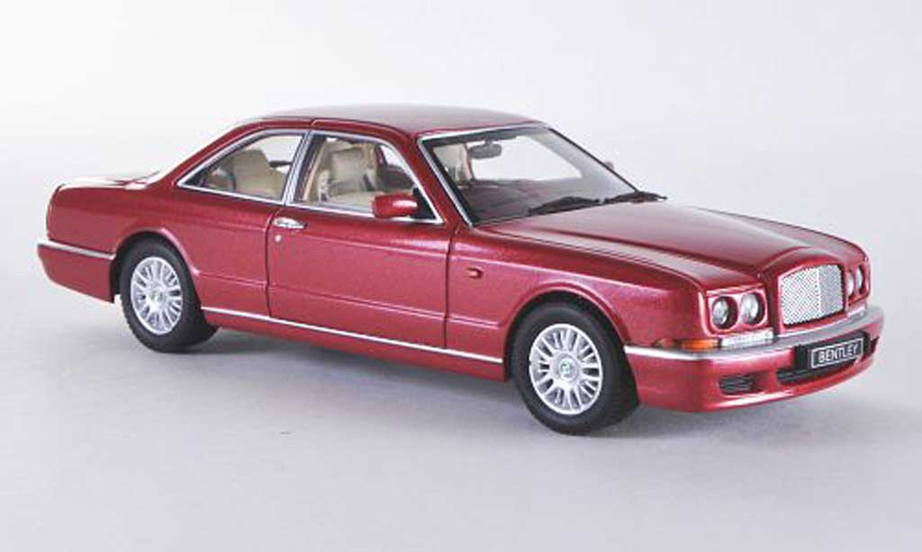 Bentley Continental R 1/43 Minichamps red HD 1996 diecast model cars