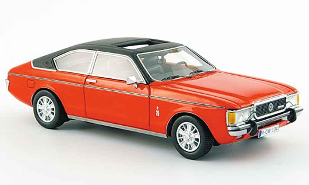 Ford Granada 1/43 Neo MKI Coupe rouge noire liavec. Auflage 300 1975