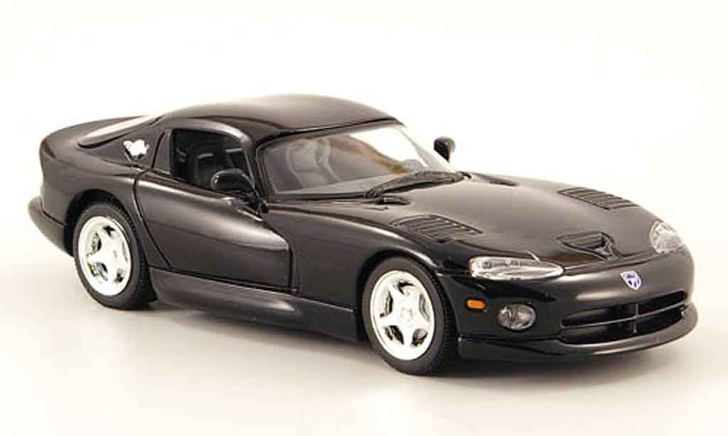 Dodge Viper GTS 1/43 Minichamps GTS noire 1993