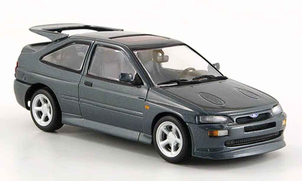 Ford Escort Cosworth 1/43 Minichamps  grise 1992 miniature
