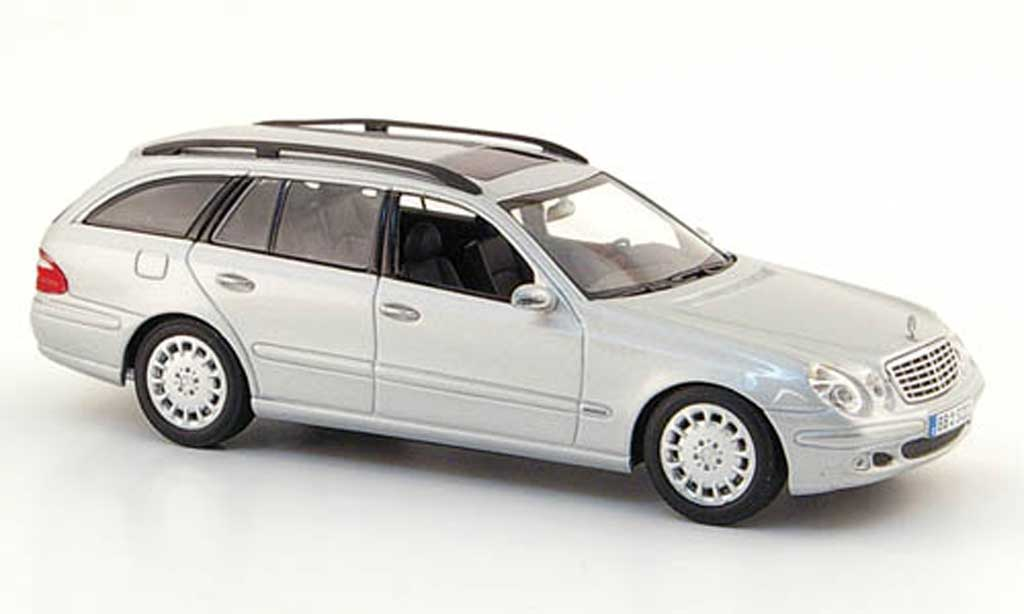 Mercedes Classe E 1/43 Minichamps T-Modell (S 211) grise  2003 miniature
