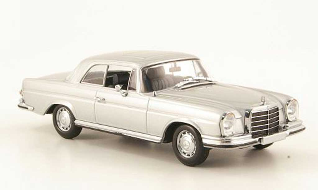 Mercedes 280 SE 1/43 Minichamps 3.5 Coupe (W111) gri 1970 miniature