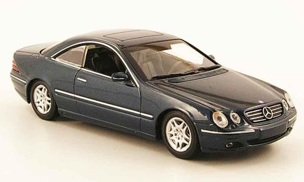 Mercedes Classe CL 1/43 Minichamps (C 215) grun 1999 diecast model cars