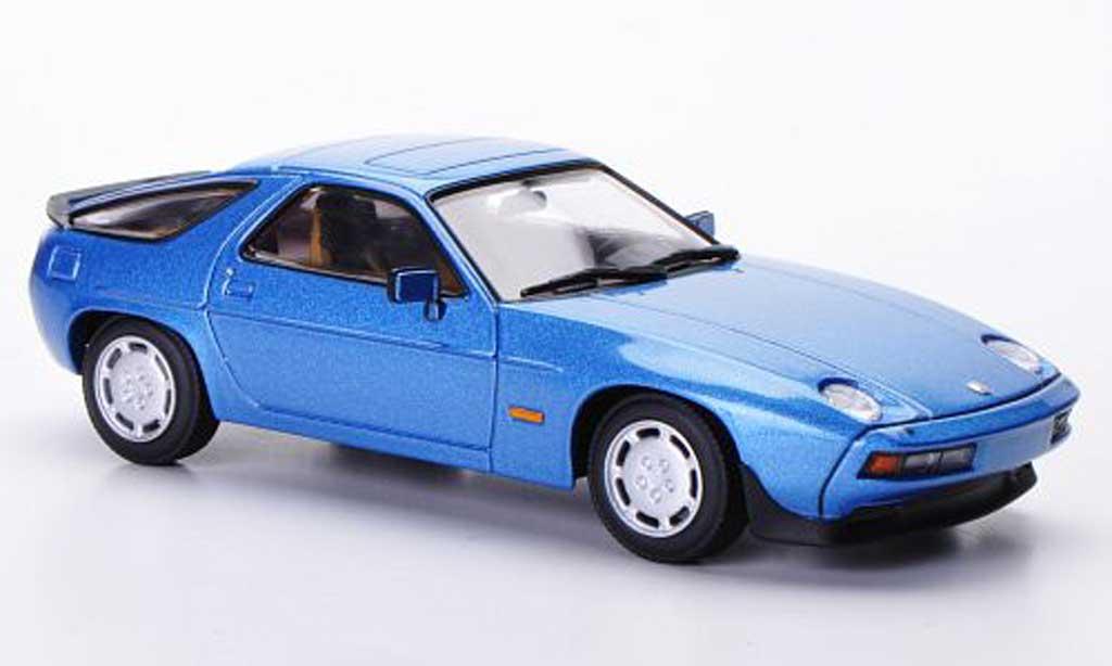 Porsche 928 1979 1/43 Minichamps S bleu diecast model cars