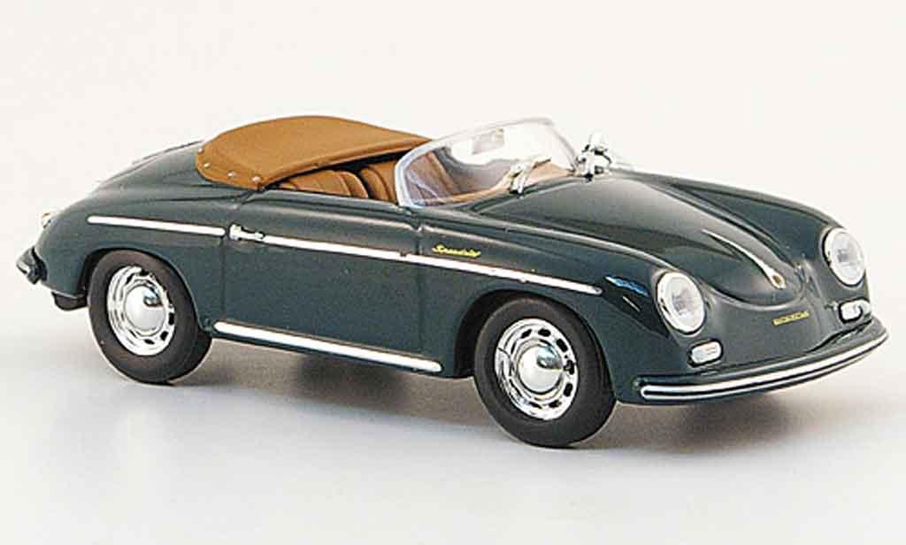 Porsche 356 1956 1/43 Minichamps A Speedster green diecast