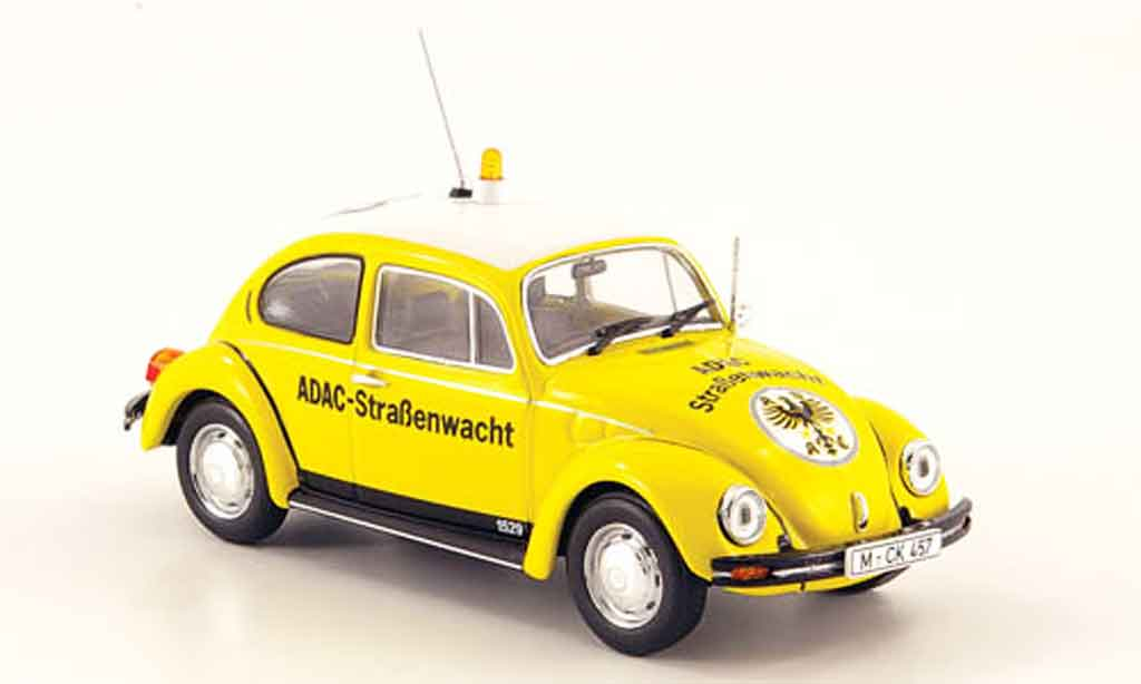 Volkswagen Coccinelle 1/43 Minichamps 1300 adac 1983 diecast