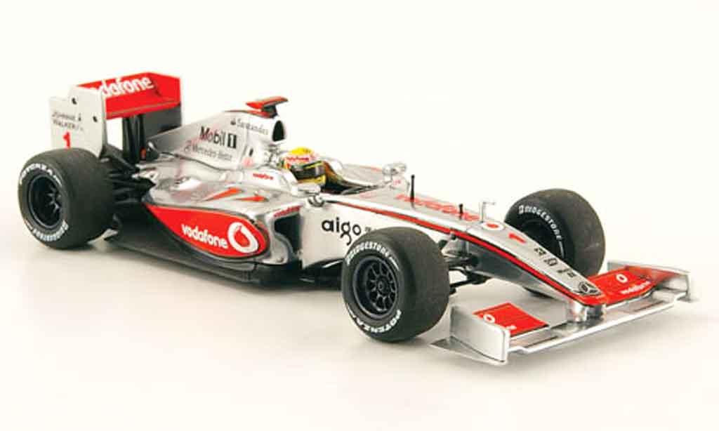 Mercedes F1 1/43 Minichamps McLaren No.1 Showcar L.Hamilton 2009 miniature
