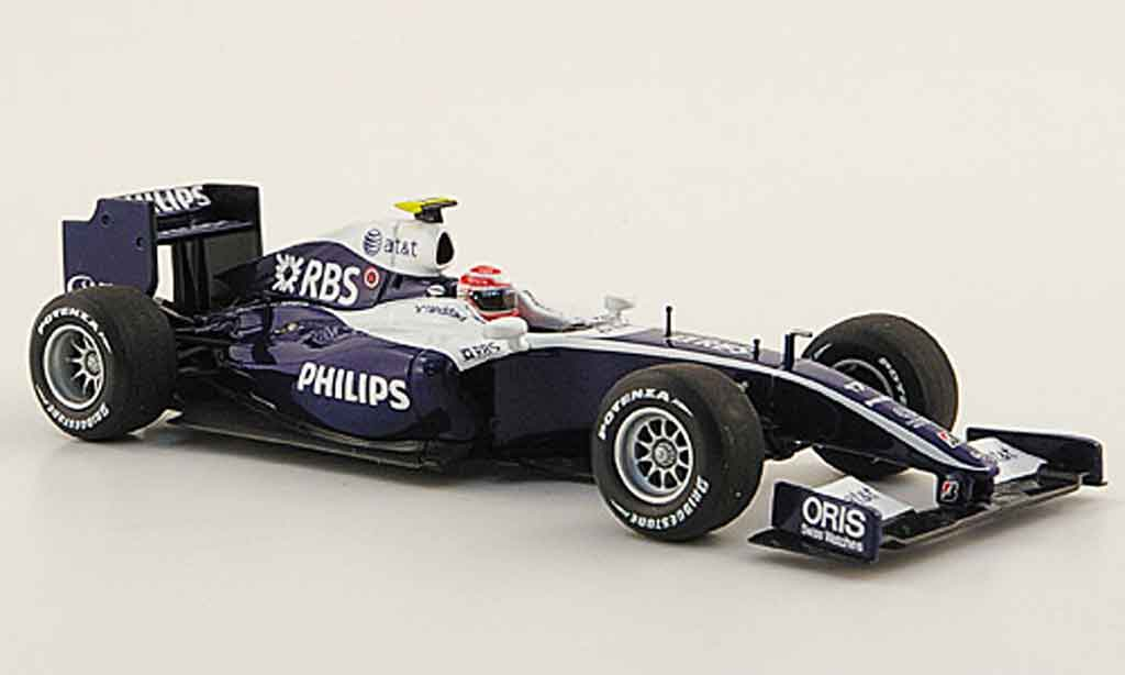 Toyota F1 1/43 Minichamps williams showcar k.nakajima 2009 miniature