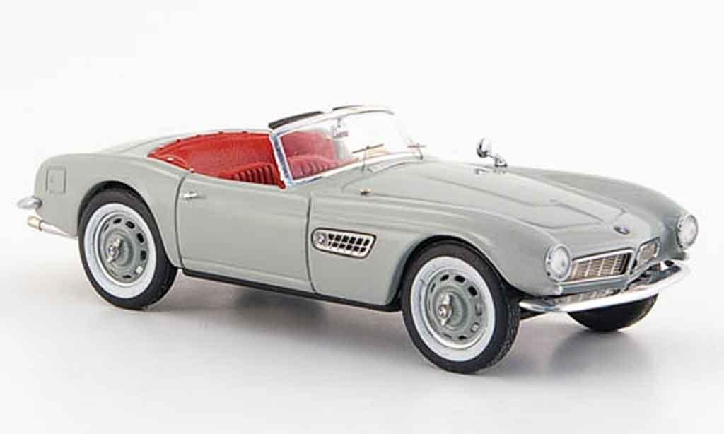 Bmw 507 1/43 Schuco grigio offen 1955 modellino in miniatura