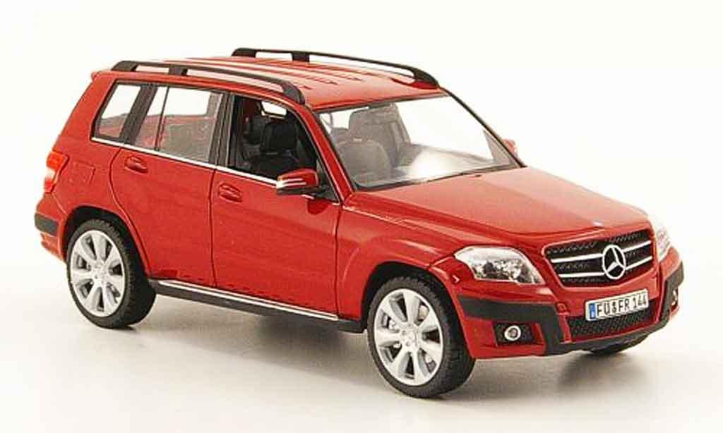 Mercedes Classe GLK 1/43 Schuco Offroad rouge 2008 miniature