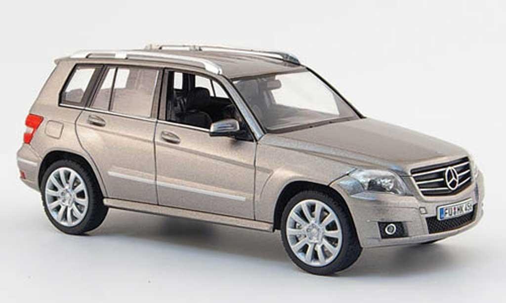 Mercedes Classe GLK 1/43 Schuco Sport grigia  2008 miniatura