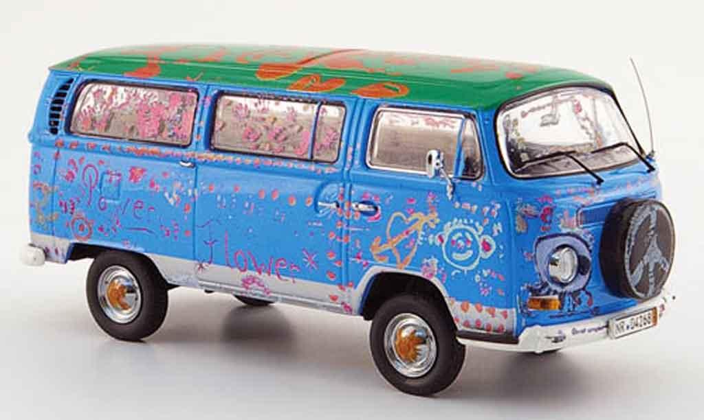 Volkswagen Combi 1/43 Schuco t 2a bus bunt die ludolfs miniature