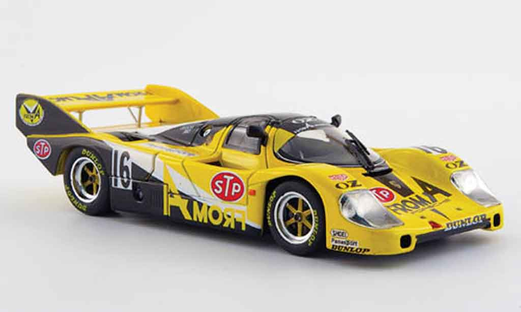 Porsche 956 1984 1/43 Ebbro No.16 From A 1000km Fuji WEC Japan miniature