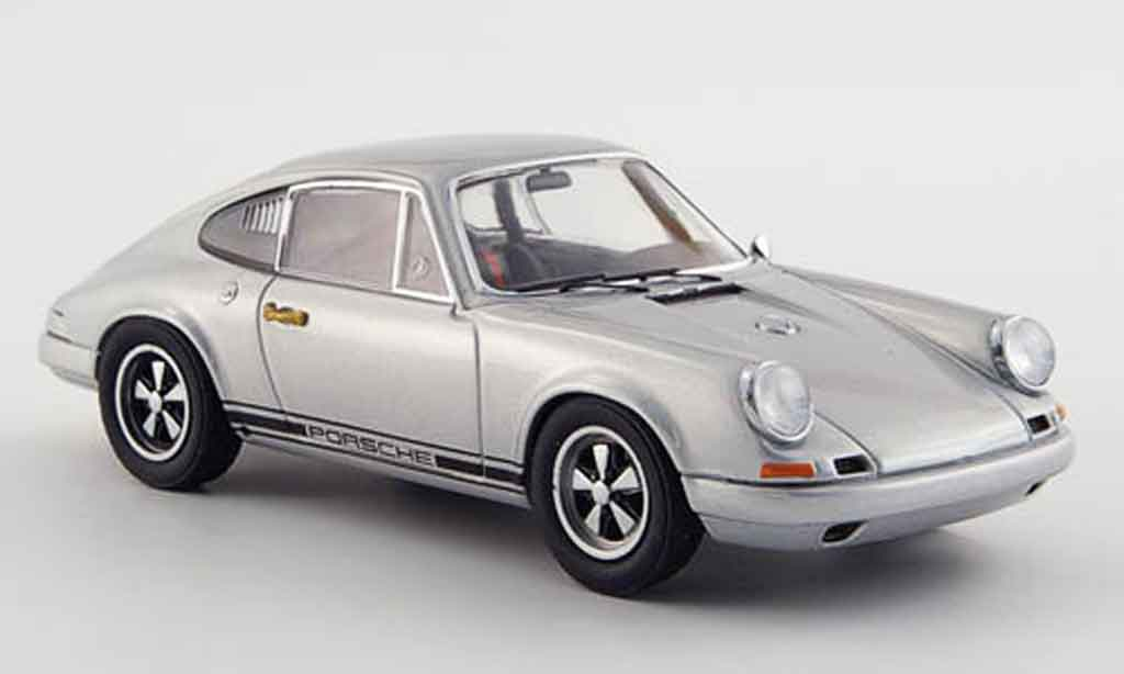Porsche 911 1/43 Ebbro R grise metallisee 1967 miniature