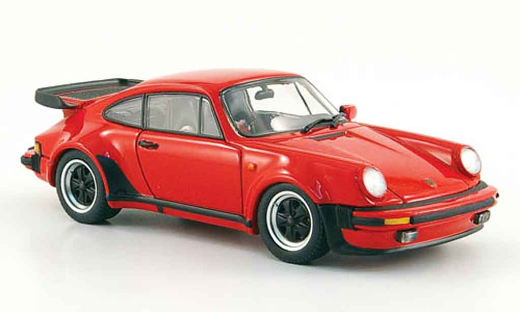 Porsche 930 Turbo 1/43 Ebbro Turbo rouge 1978 miniature