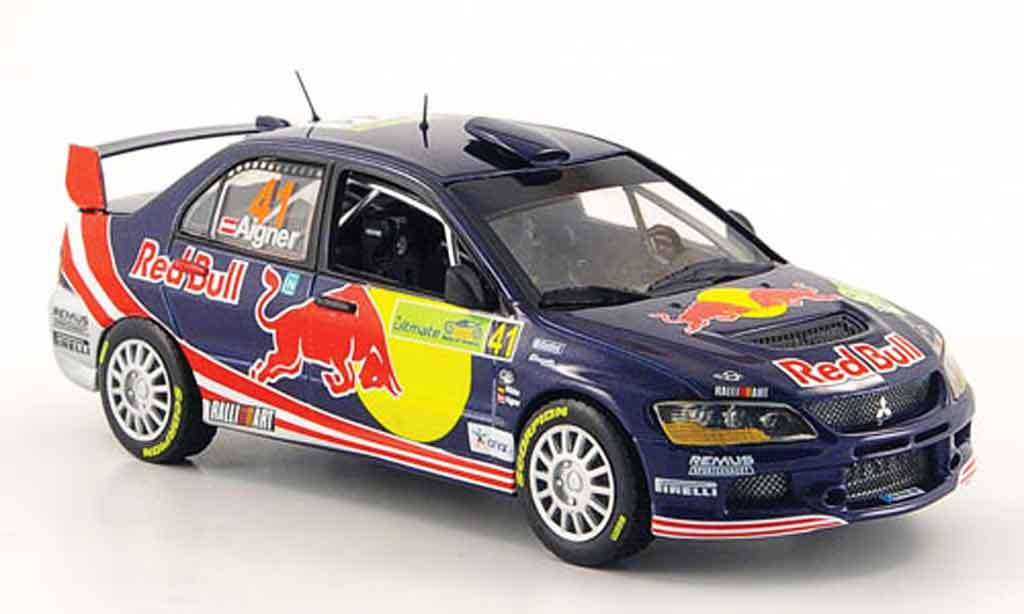 Mitsubishi Lancer Evolution IX 1/43 Vitesse No.41 Red Bull Rally Akropolis 2008 miniature