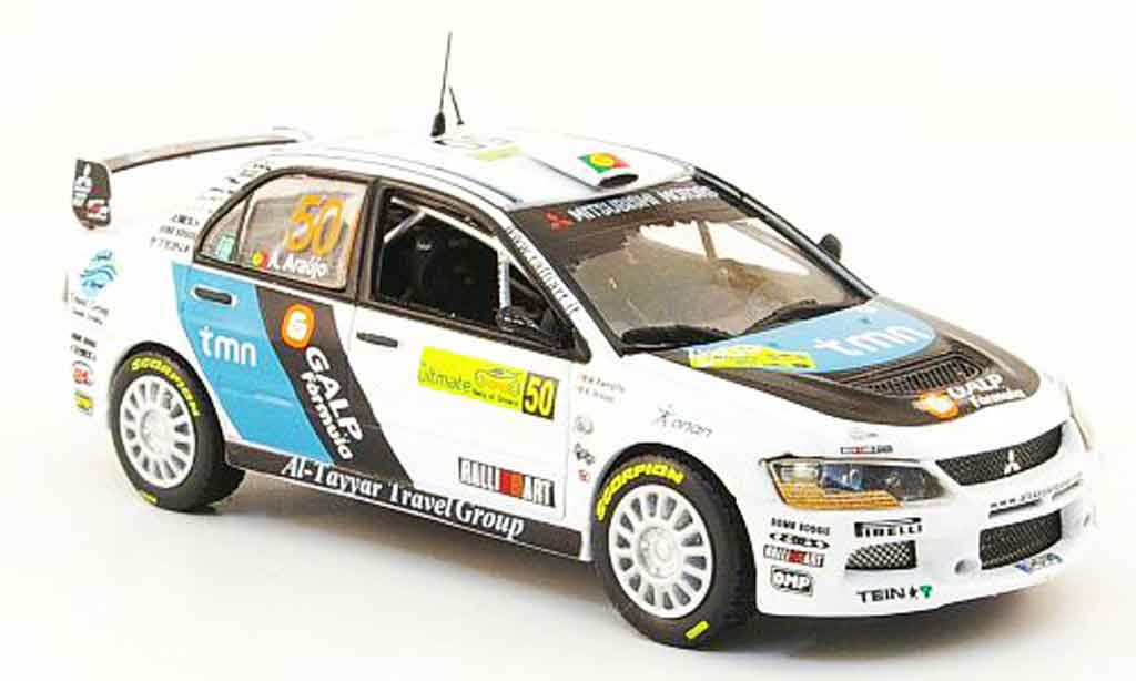 Mitsubishi Lancer Evolution IX 1/43 Vitesse No.50 PWRC Rally Griechenland 2008 miniature