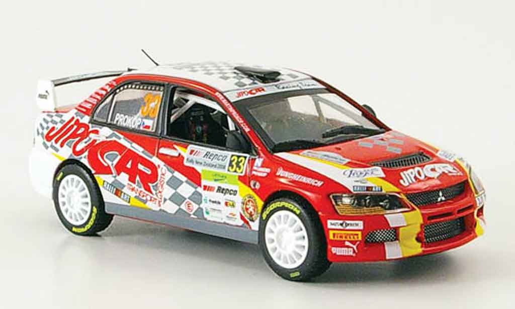 Mitsubishi Lancer Evolution IX 1/43 Vitesse Gr.N No.33 PWRC Rally Neuseeland 2008 miniature