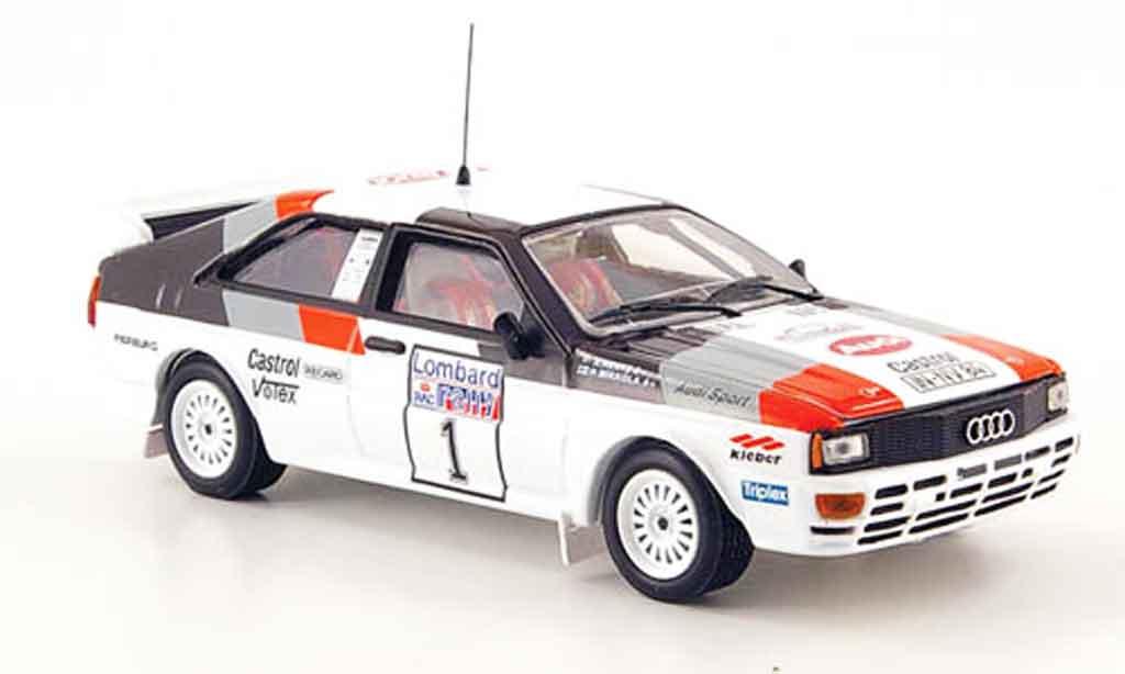 Audi Quattro 1/43 Vitesse No.1 Mikkola Hertz Rally England 1982 miniature